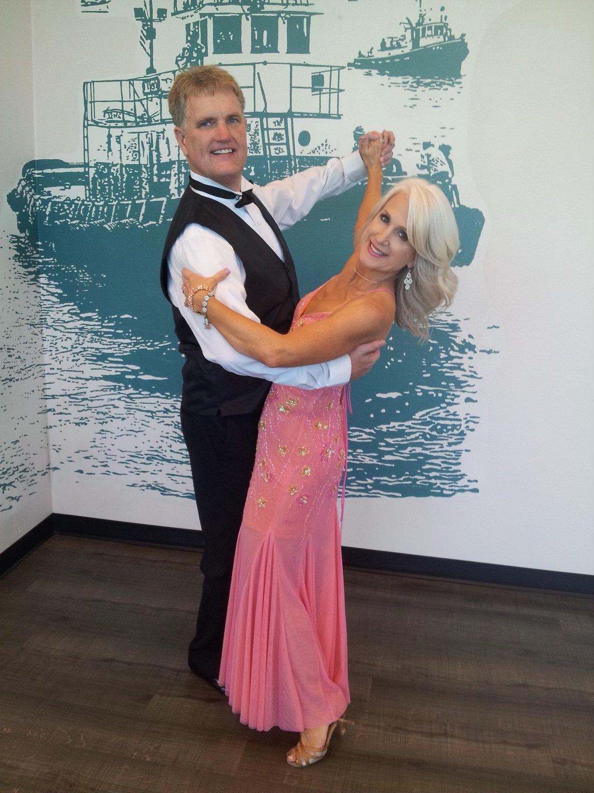 Social Dance Couple